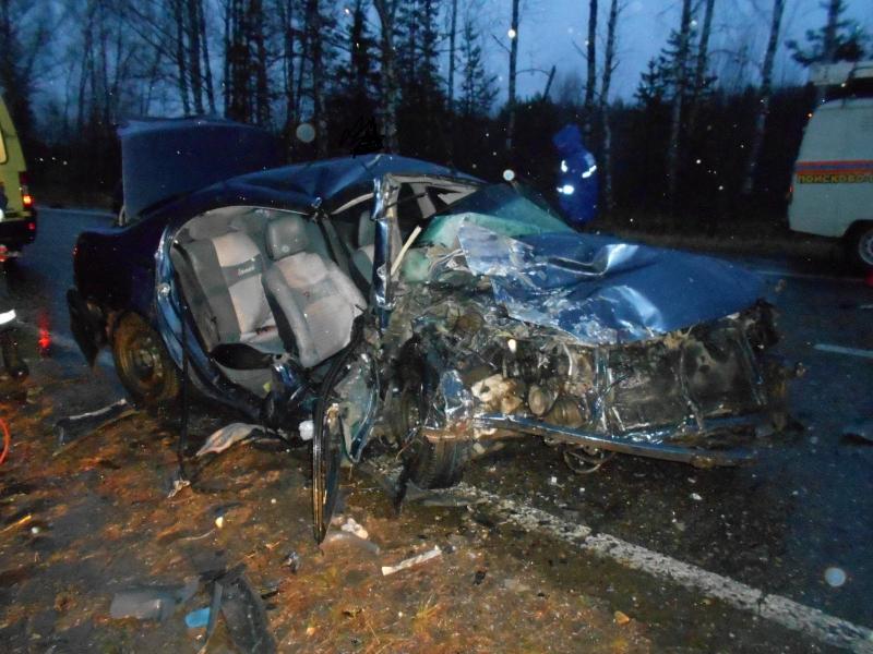 В страшной автокатастрофе в Ярославской области погибла женщина