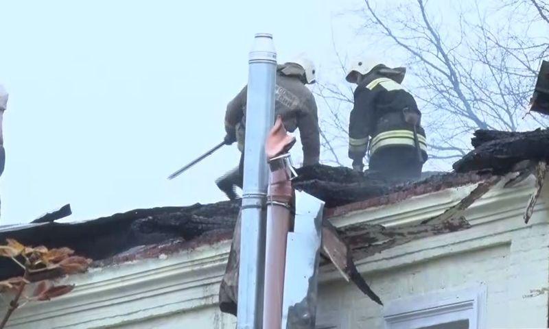 Пострадавшие при пожаре в Ростове получат по 100 тысяч из резервного фонда правительства области - Миронов