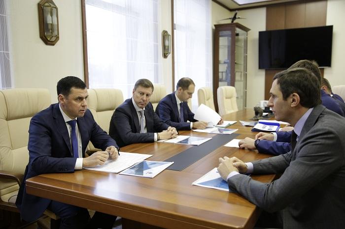 Дмитрий Миронов обсудил с руководителем компании «Российский экологический оператор» внедрение в регионе передовых технологий переработки отходов