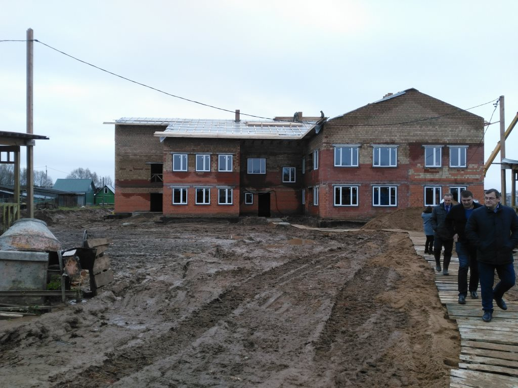 Ввод нового детского сада позволит ликвидировать очередь в дошкольные учреждения в Пошехонье