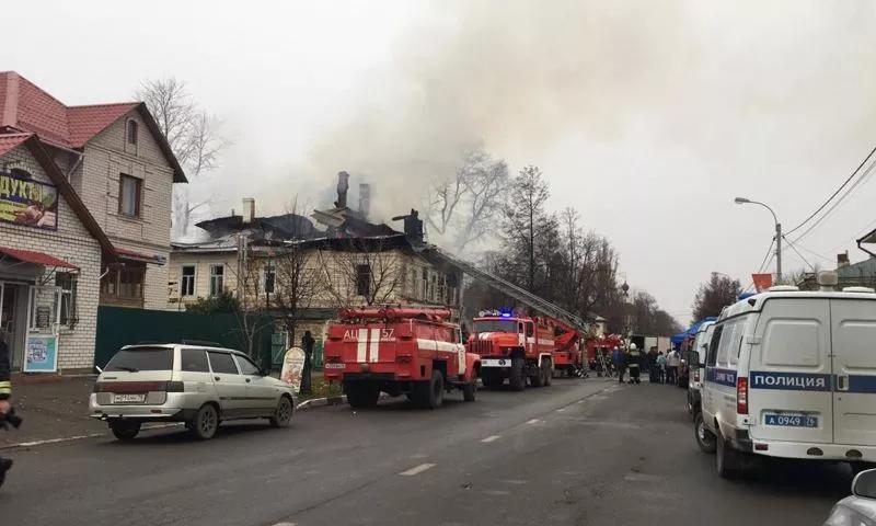 В Ярославской области начали собирать деньги для помощи пострадавшим от пожара в Ростове