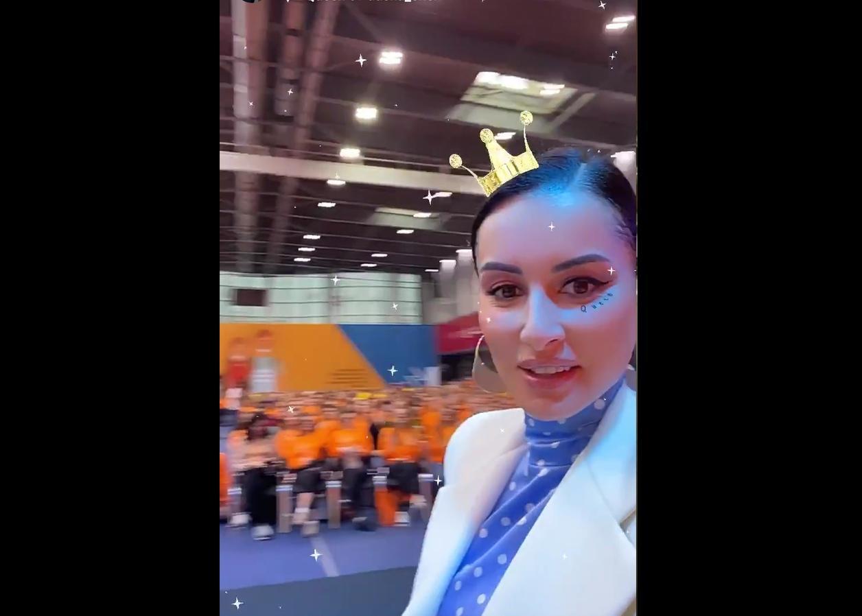 Тина Канделаки приехала в Ярославль на слет лидеров