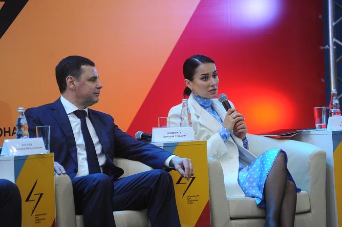 Дмитрий Миронов и Тина Канделаки встретились с участниками слета лидеров и представителей Национальной лиги студенческих клубов