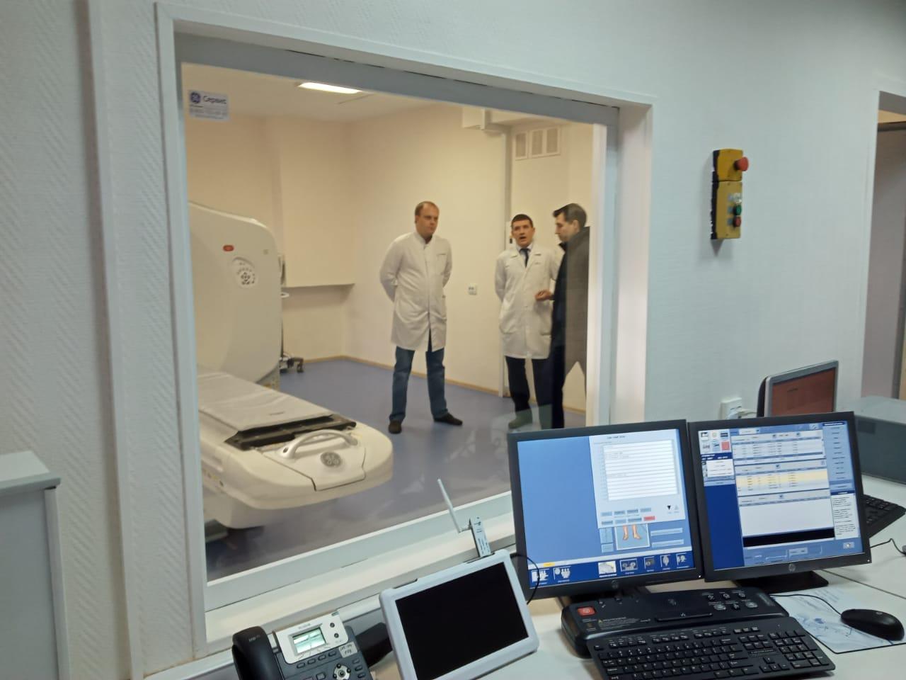 В областной онкологической больнице начал работу специализированный мультиспиральный томограф