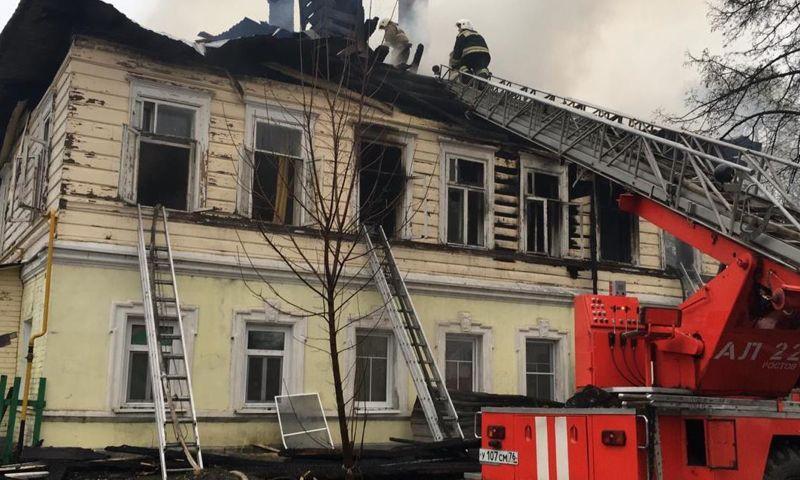 Количество жертв пожара в Ростове выросло до восьми