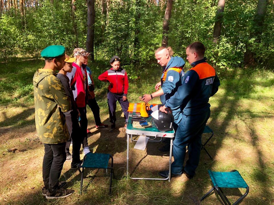 Ярославский спасательный отряд выиграл президентский грант в миллион рублей