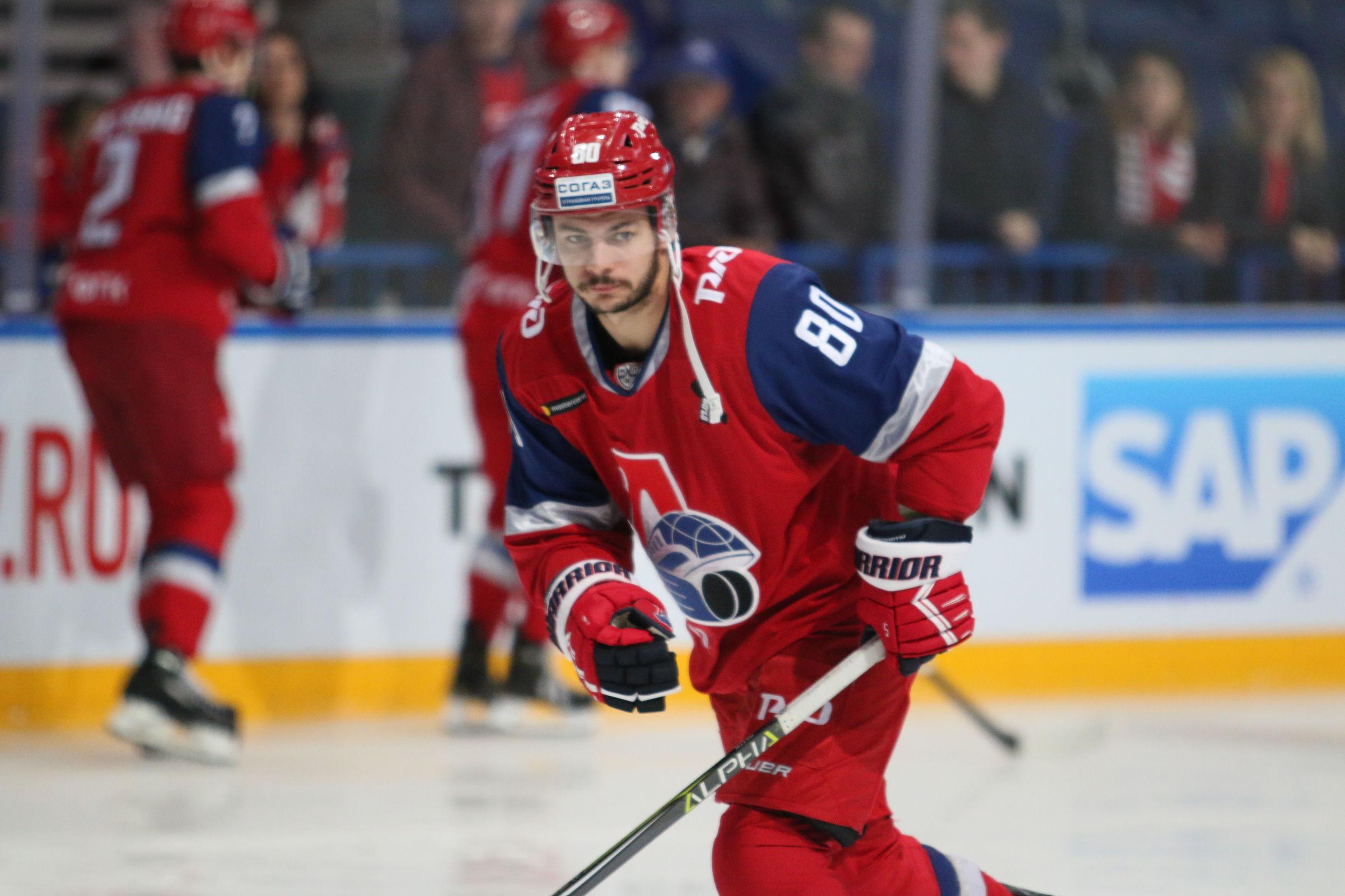 «Локомотив» расстался с канадским нападающим Ратти
