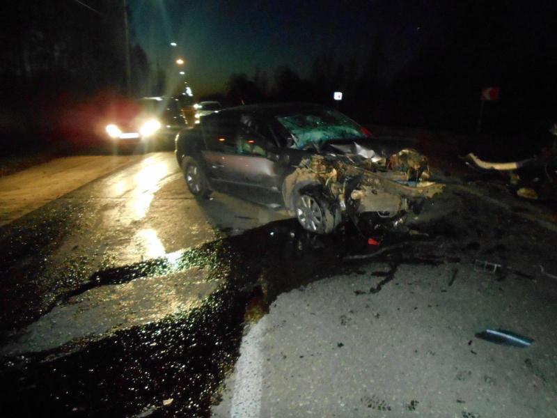 Три человека пострадали в крупной аварии в Ярославской области