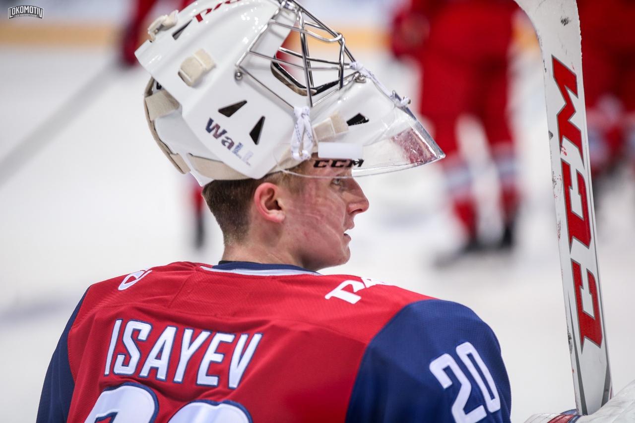 Вратарь «Локомотива» Исаев стал лучшим новичком недели в КХЛ