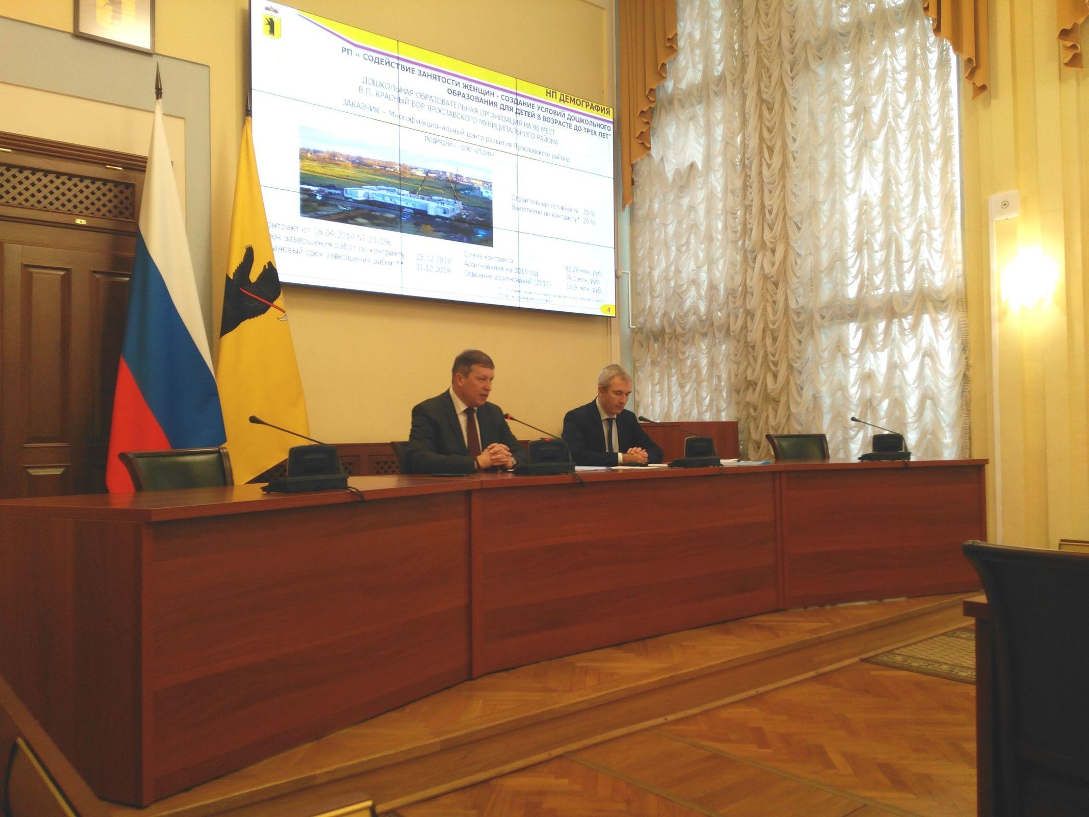 С начала года в Ярославской области сдали более 500 тысяч квадратных метров жилья