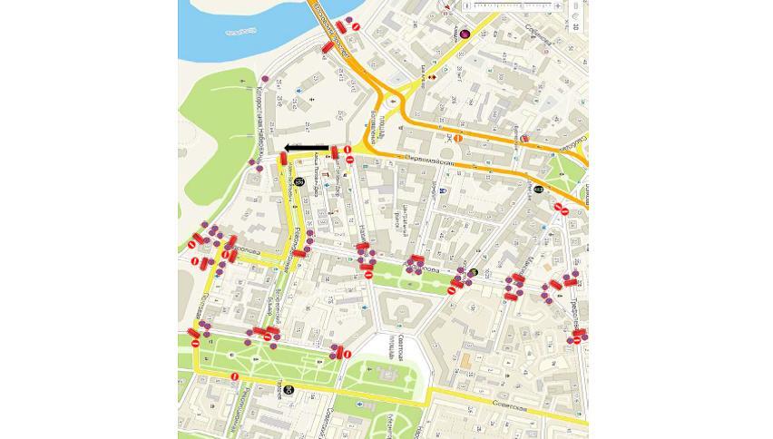 В Ярославле в День народного единства ограничат движение транспорта: схема