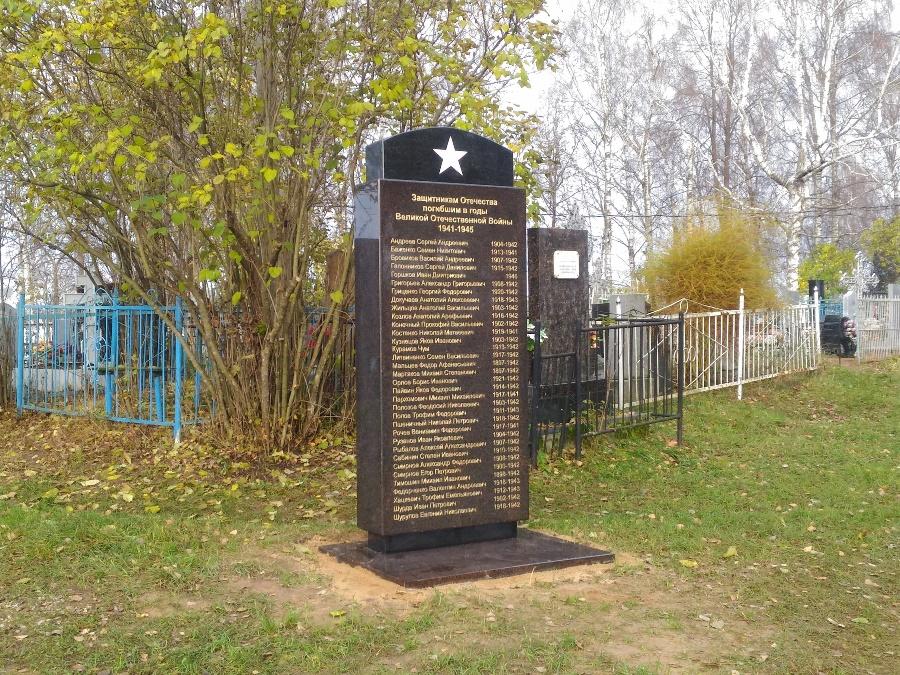 В Рыбинске установили стелу в честь павших за Родину летчиков