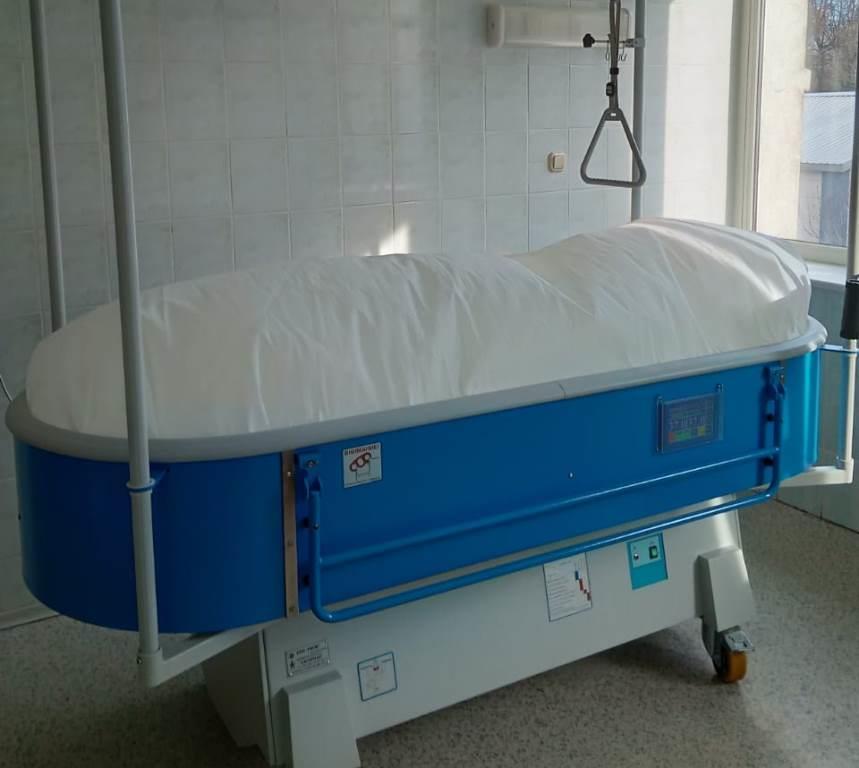 В уникальное ожоговое отделение больницы имени Соловьева закуплено новое оборудование