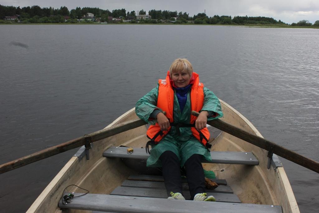 Почтальон, каждый день переплывающая Рыбинское водохранилище, вышла в финал всероссийского конкурса