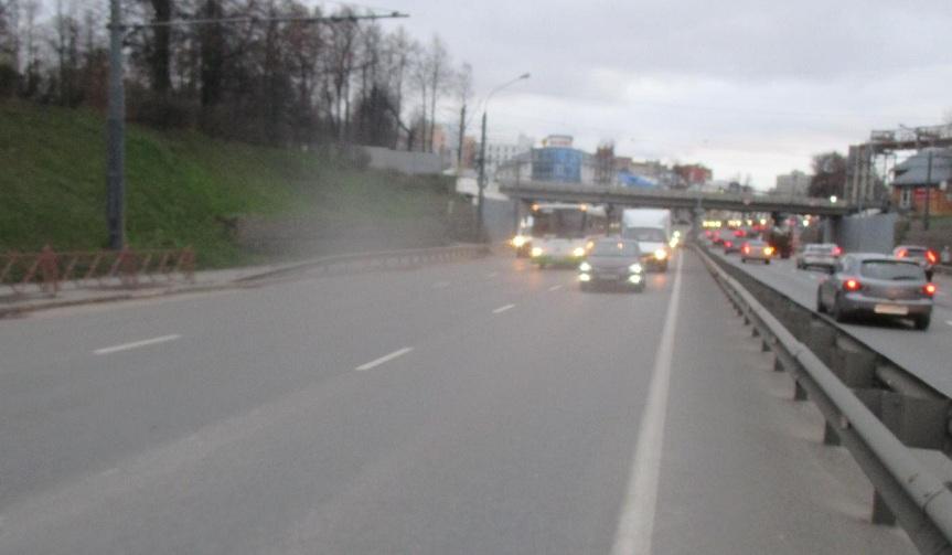 На Московском проспекте в Ярославле пострадала пассажирка автобуса
