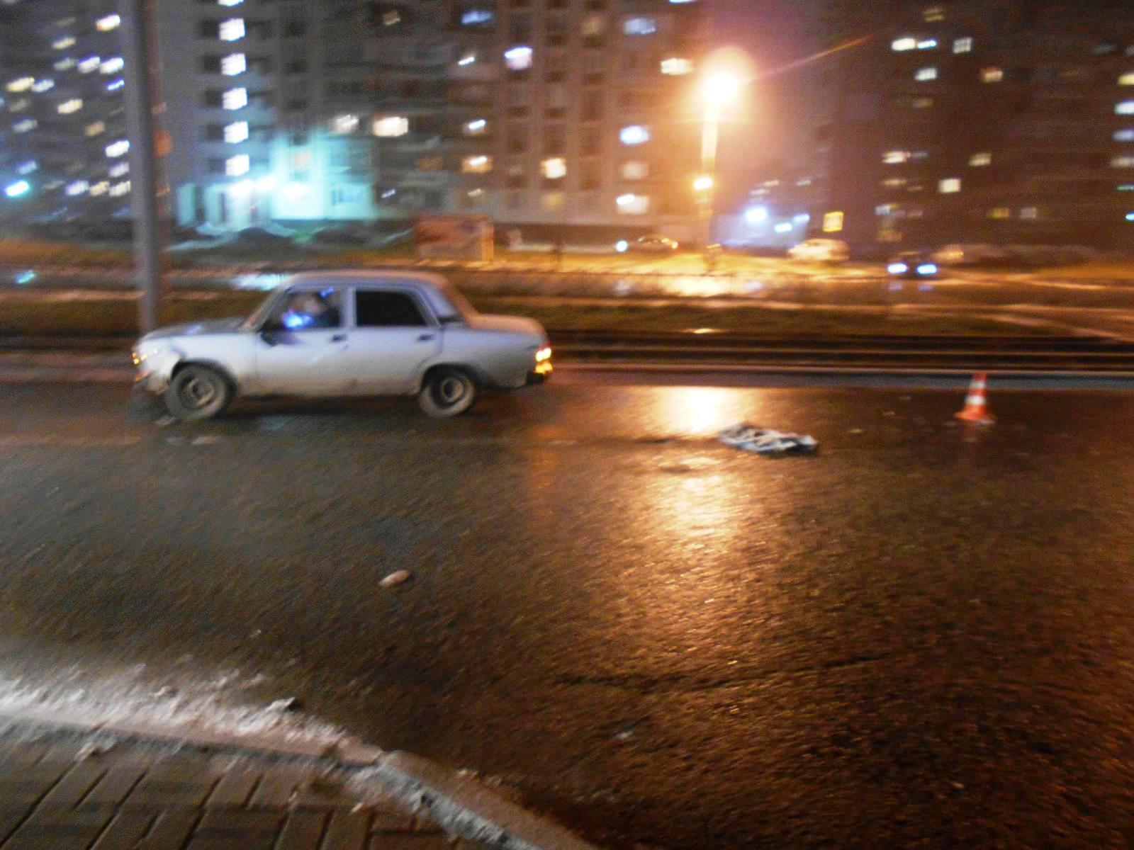 В Дзержинском районе Ярославля ВАЗ сбил пешехода