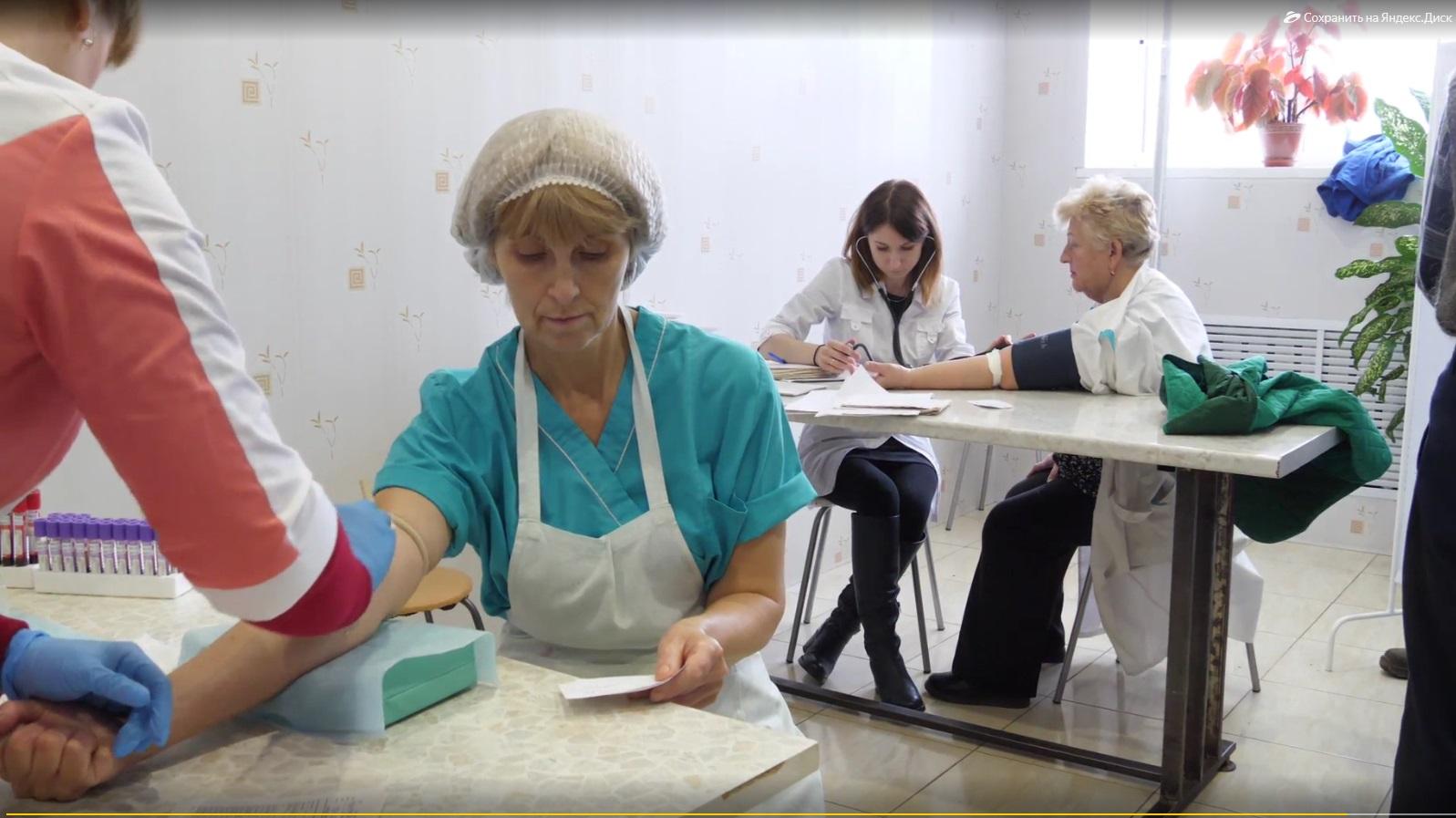 В Ярославской области врачи районных больниц проводят диспансеризацию на предприятиях