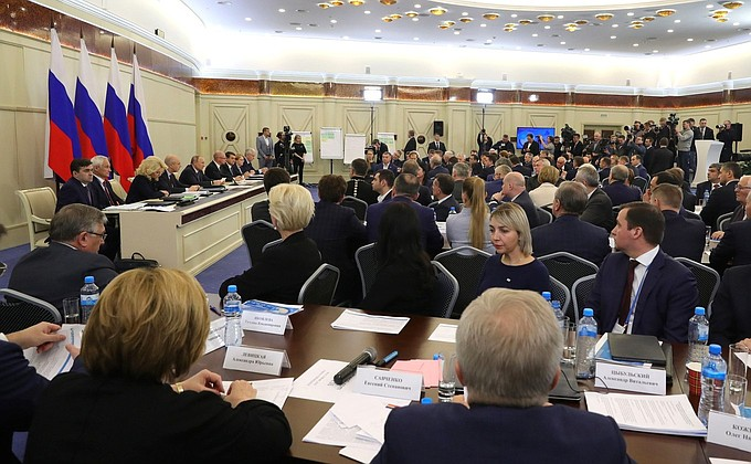 Дмитрий Миронов принял участие в заседании президиума Госсовета РФ
