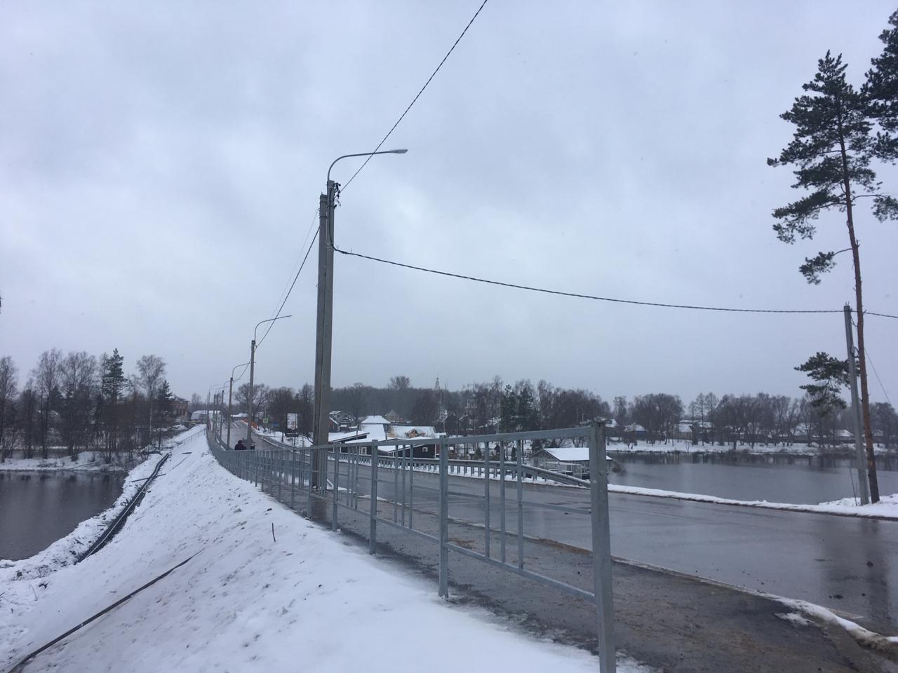 Дмитрий Миронов: в Ярославской области открыли движение по новому мосту через Солоницу