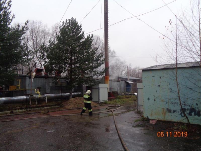 При пожаре в котельной Рыбинска погиб человек