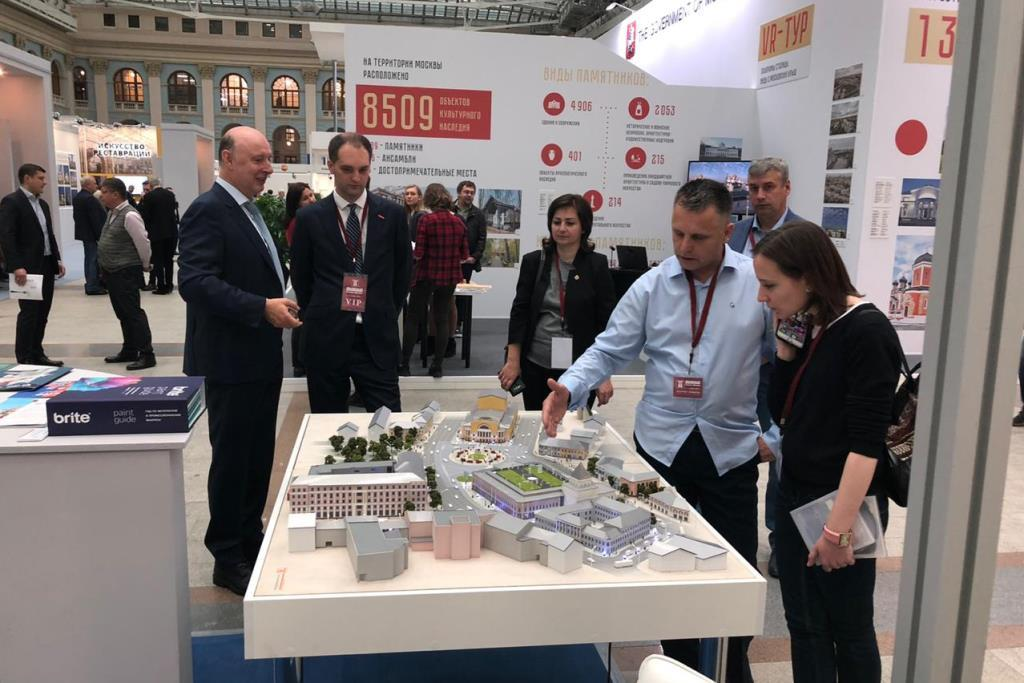 Опыт Ярославской области в сфере реставрации представлен на международной специализированной выставке