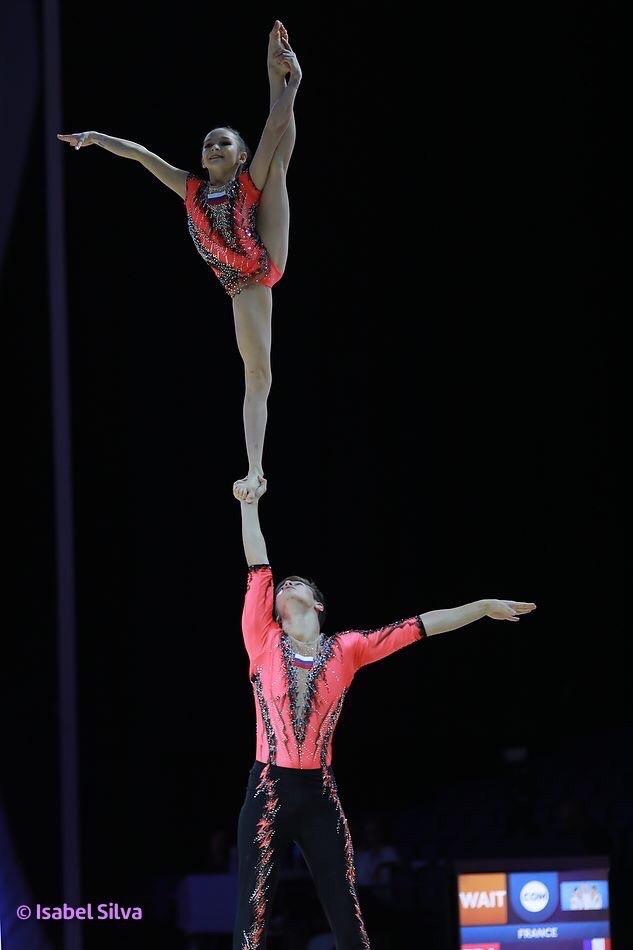 Ярославские акробаты трижды стали серебряными призерами чемпионата Европы