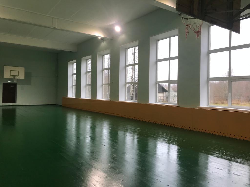 В Ярославской области отремонтированы спортзалы в четырех сельских школах