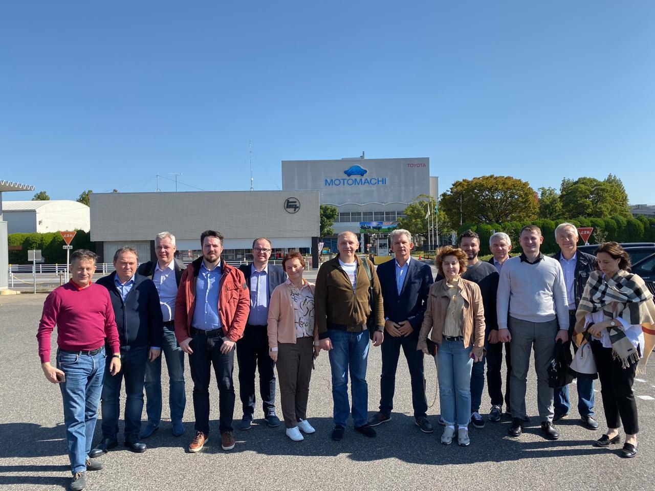 Ярославские промышленники познакомились с практиками бережливого производства на заводе «Toyota Motomachi factory»