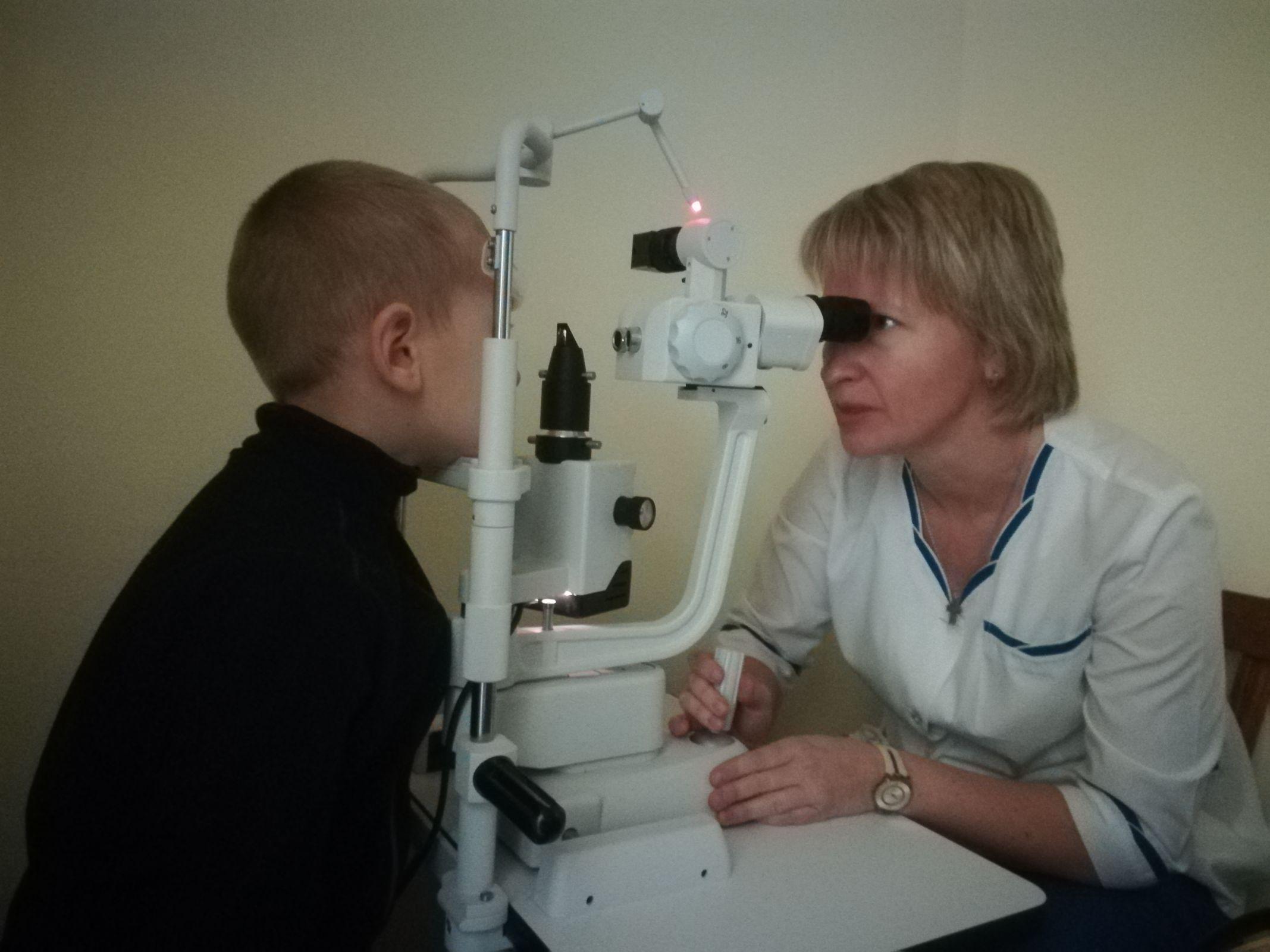 В детской поликлинике №3 Ярославля укомплектованы новым оборудованием два офтальмологических кабинета