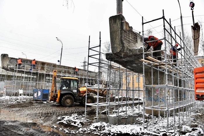 На Добрынинском путепроводе в Ярославле стартовала активная фаза работ: что делают