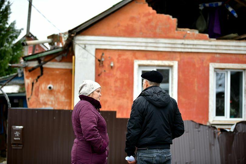 В Ярославле из-за взрыва газа разворотило жилой дом