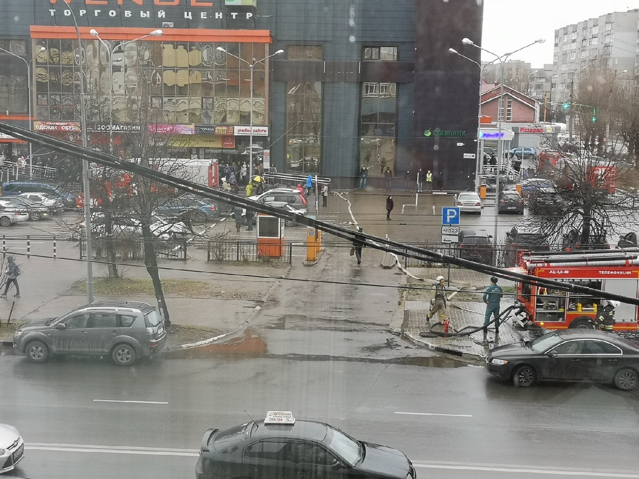 Из ТЦ «Венге» в центре Ярославля эвакуировали посетителей: что случилось