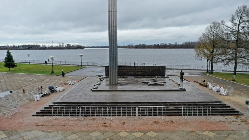 В Рыбинске «Огонь Славы» почти готов к юбилею Победы