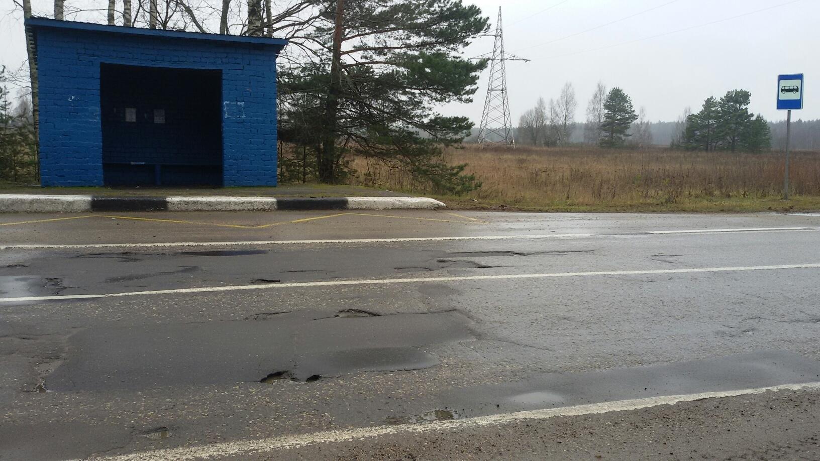 Ямы на трассе в Ярославской области ликвидировали после поста в социальных сетях