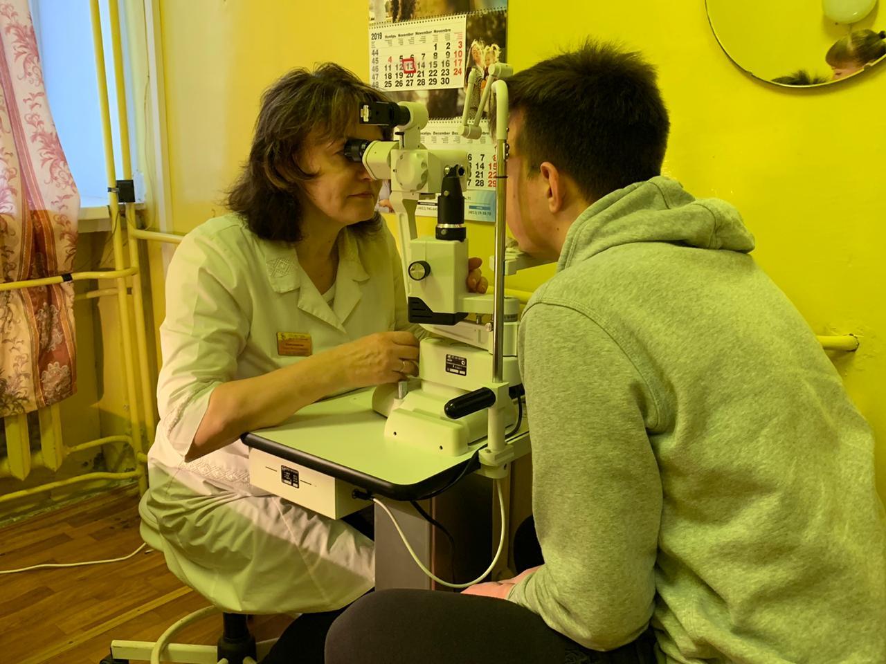 В Мышкинской районной больнице оборудовали кабинет офтальмолога