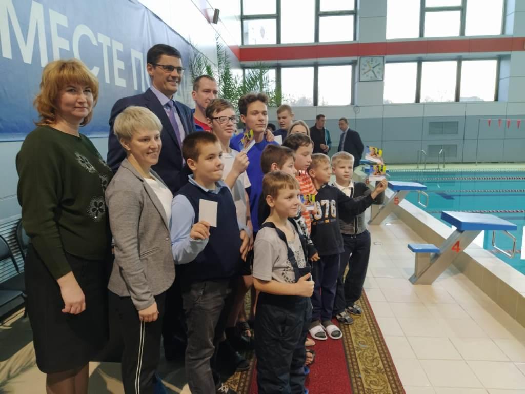 Олимпийский чемпион по плаванию Александр Попов провел мастер-класс для ярославских ребят