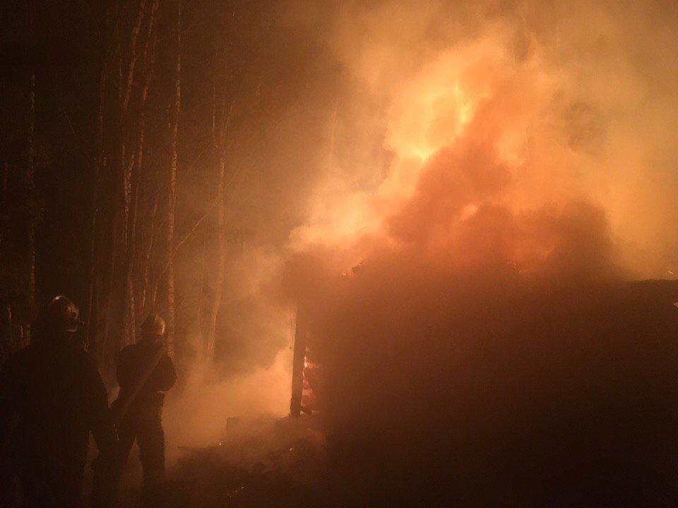 В Ярославской области мужчина сгорел в своем доме
