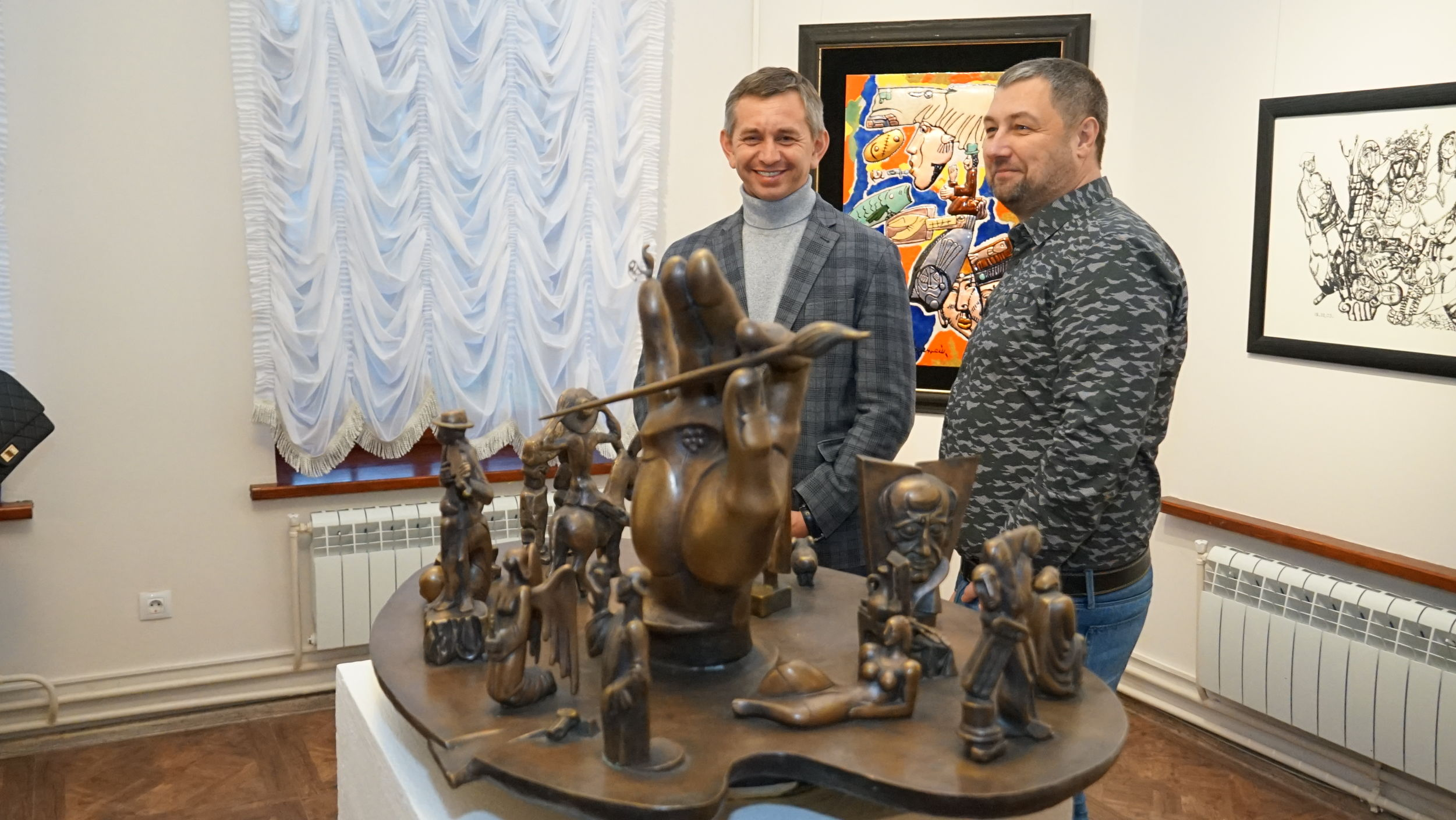 В Ярославле открылась выставка Зураба Церетели