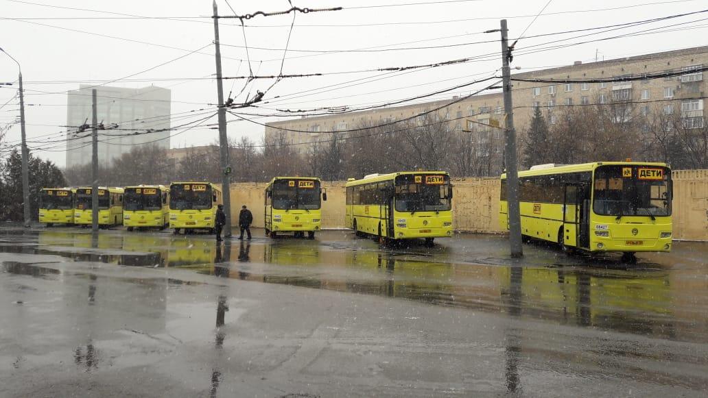 На маршруты Ярославской области вышло более 60 современных автобусов из Москвы