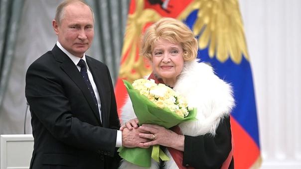 Путин наградил ярославскую актрису