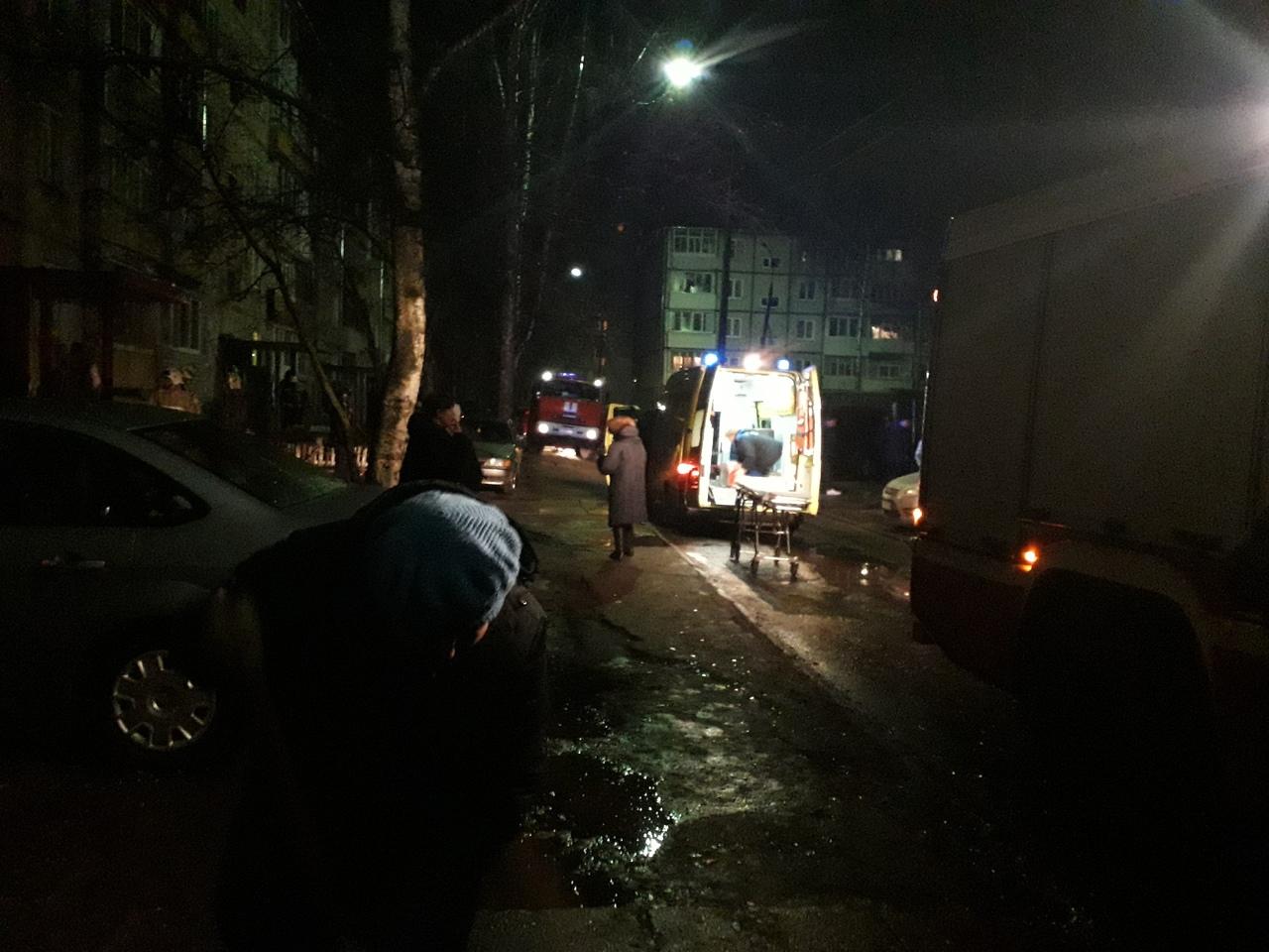 В жилом доме Ярославля произошел взрыв газа: есть пострадавшие