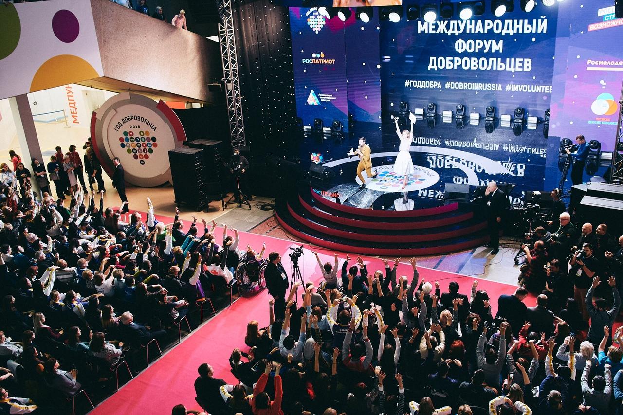 Ярославские волонтеры принимают участие в Международном форуме добровольцев в Сочи