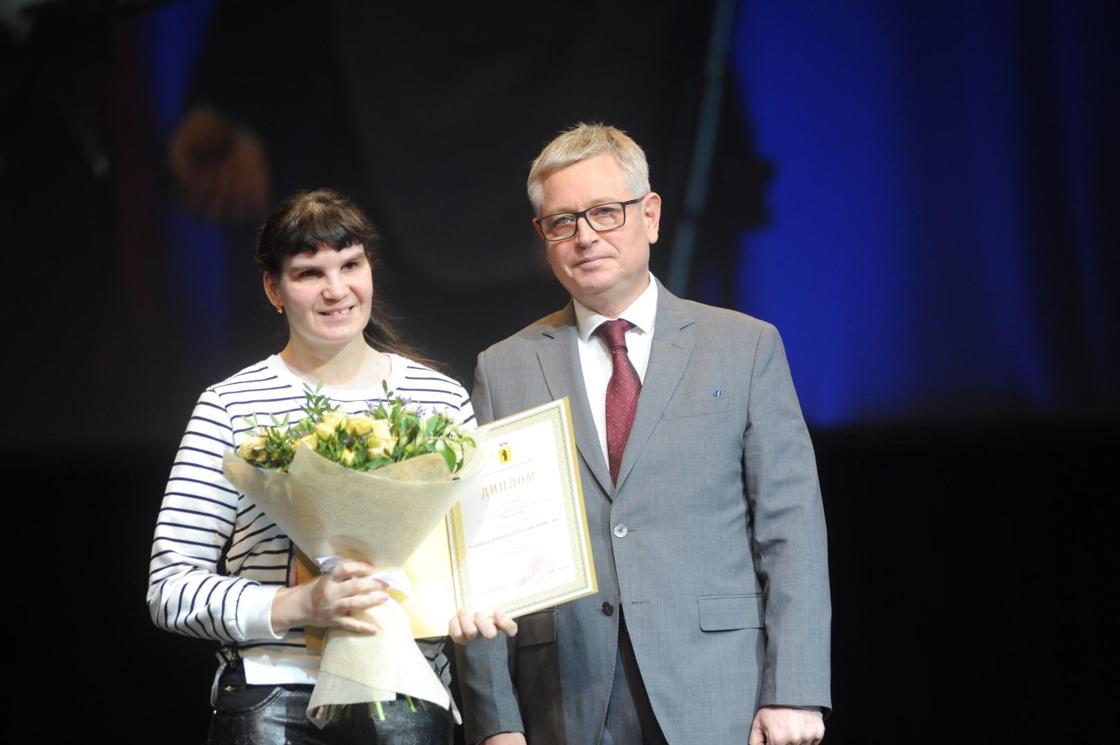 Победители конкурса для инвалидов «Преодоление» получили губернаторские премии