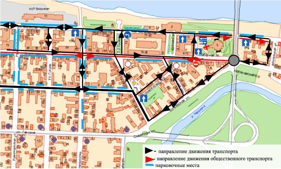 В Рыбинске после открытия главной городской магистрали изменится движение транспорта