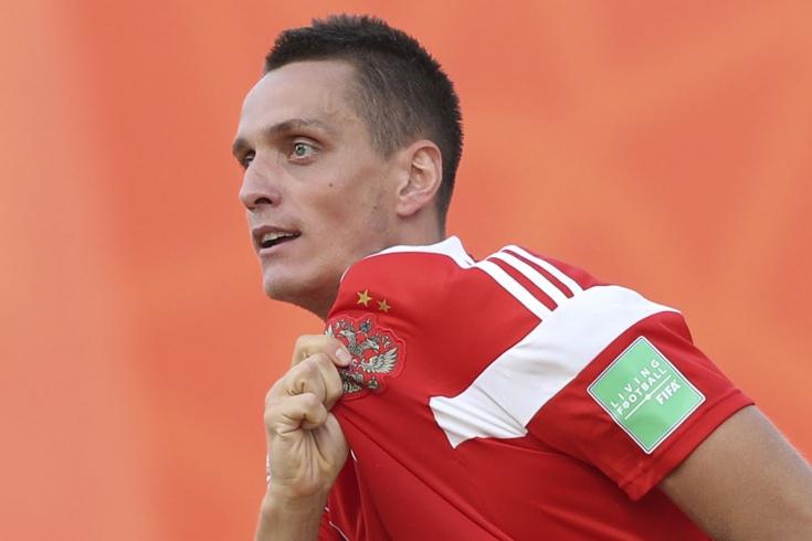 Ярославец стал бронзовым призером чемпионата мира по пляжному футболу