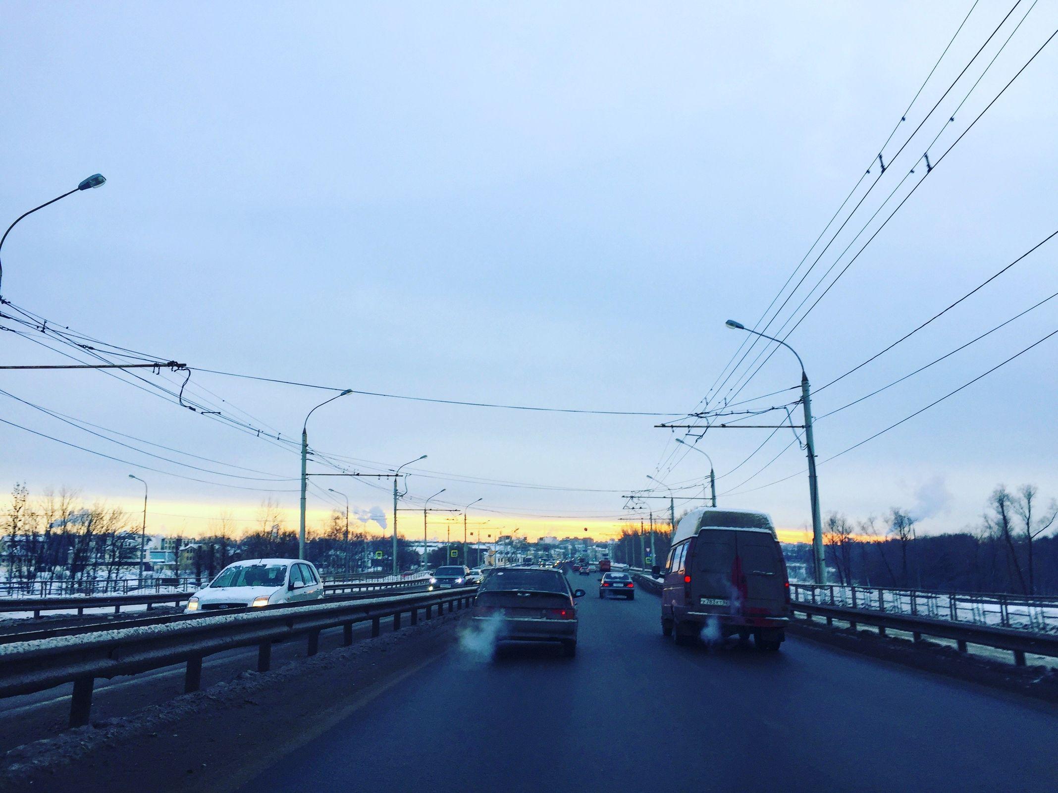 На Московском проспекте в Ярославле сбили насмерть мужчину с собакой