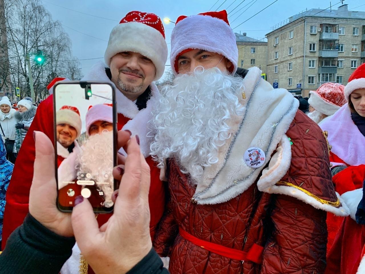 Главы районов и областные чиновники переоделись в Дедов Морозов