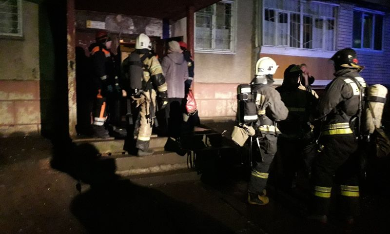 В Ярославле восстанавливают панельный дом, пострадавший от взрыва газа