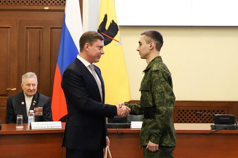 Десять новобранцев из Ярославской области призваны в Президентский полк
