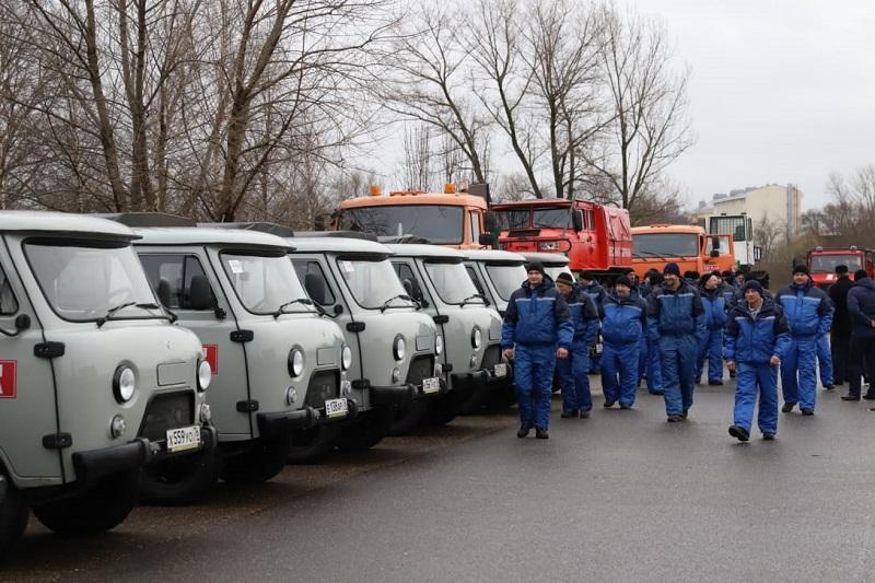Дмитрий Миронов передал сотрудникам лесной охраны ключи от новой спецтехники